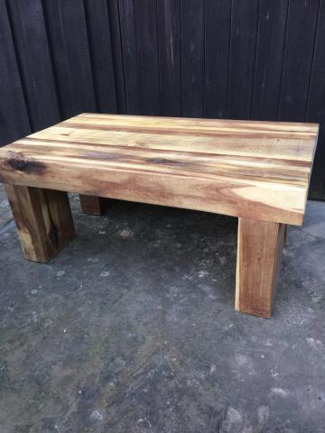 Preview of the first image of SOLID/CHUNKY/RUSTIC COFFE TABLE/TV STAND.