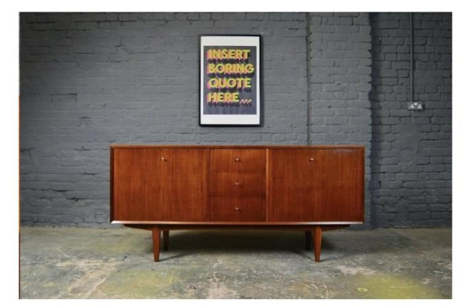 Image 1 of Mid Centry Vanson Sideboard by Peter Hayward