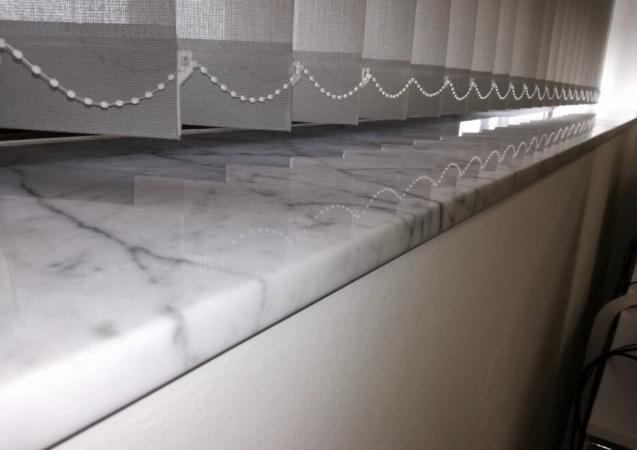 Marble sills
