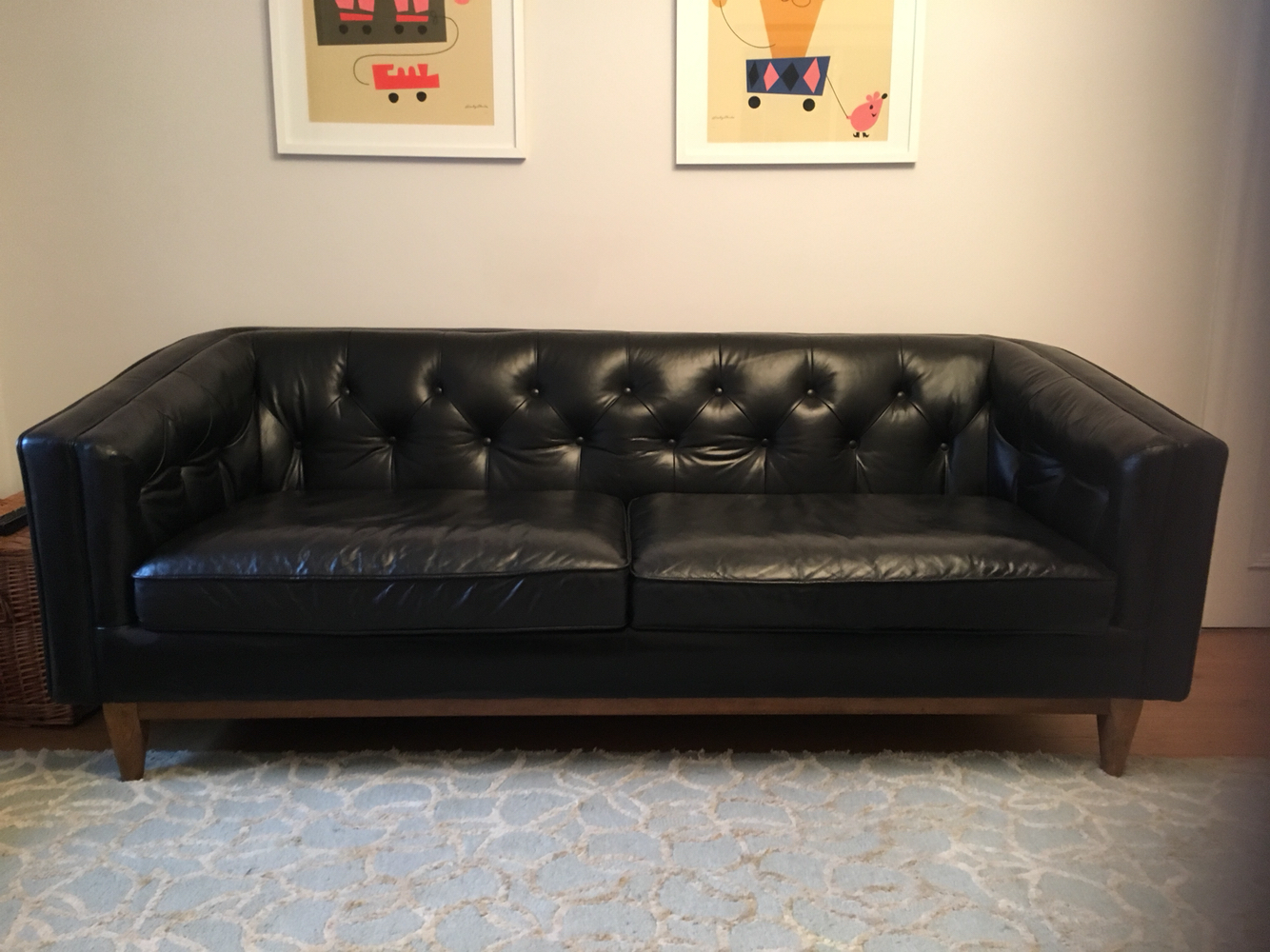 ... Selling My Black Leather Sofa Which Was Purchased From House Of Fraser  Just Over 2 Years Ago. Iu0027ve Had My Living Room Re Designed And  Unfortunately It ...
