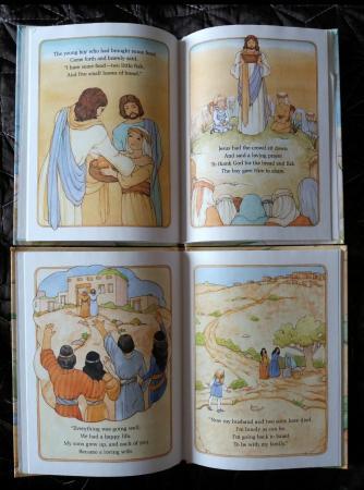 Children's hardback Bible stories  £2 each