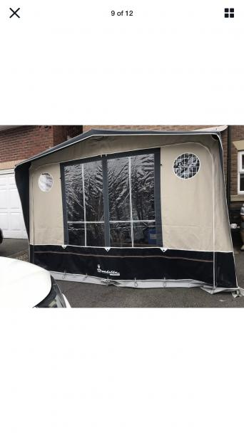 porch awning - Used Caravan Accessories, Buy and Sell ...