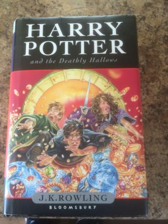 First Edition Harry Potter And The Ly Hallows Book
