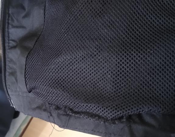 Image 3 of 3XL Black Dunlop Hooded Rain Jacket