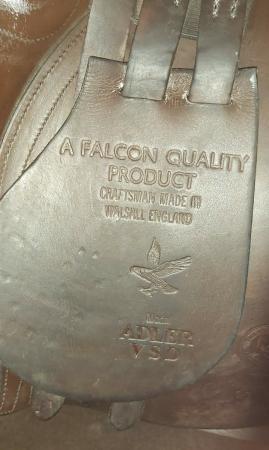 "Image 2 of Saddle 18"" Falcon Adler VSD"