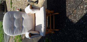 Wooden Rocking Chair, used for sale  Lincoln
