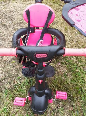 Image 2 of Little Tikes Pink Bike
