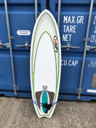 """Image 1 of Surf board for sale - New Surf Project Fish SG 5'6"""" + leash"""