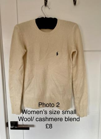 Image 2 of Women's Ralph Lauren cashmere jumper