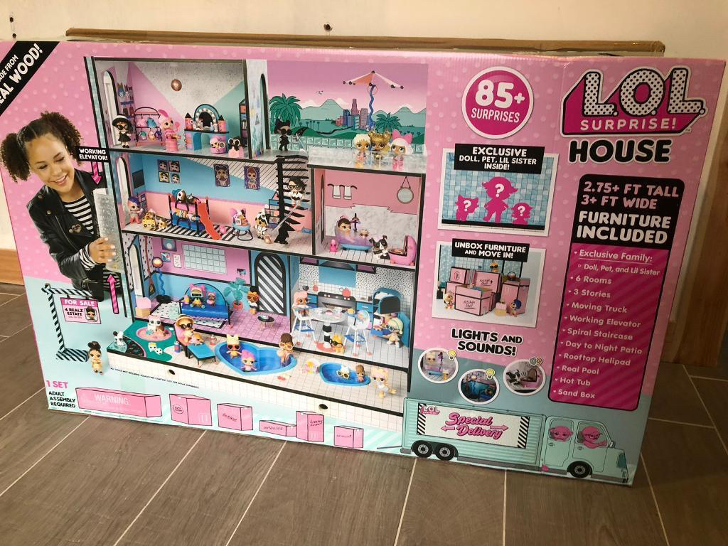 Lol Surprise Dolls House For Sale In Westfield East Sussex Preloved