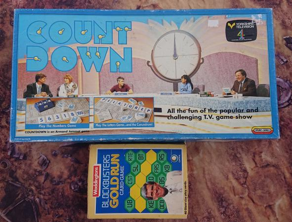 Image 1 of Countdown and Blockbuster nostalgia boardgames