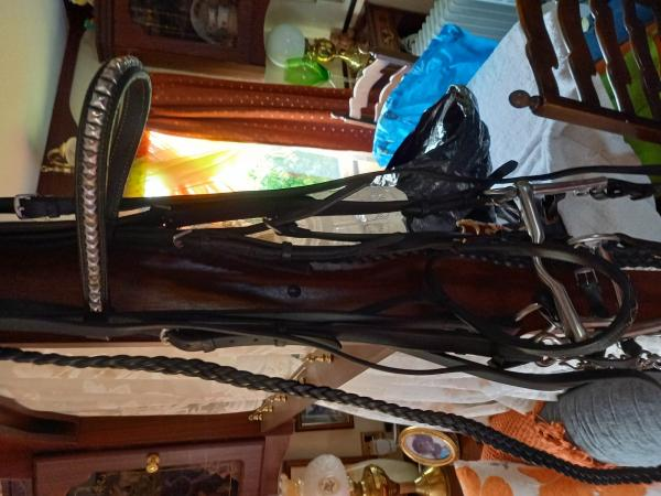 Image 3 of horse rugs stirupps spurs double bridle full size gaiters al