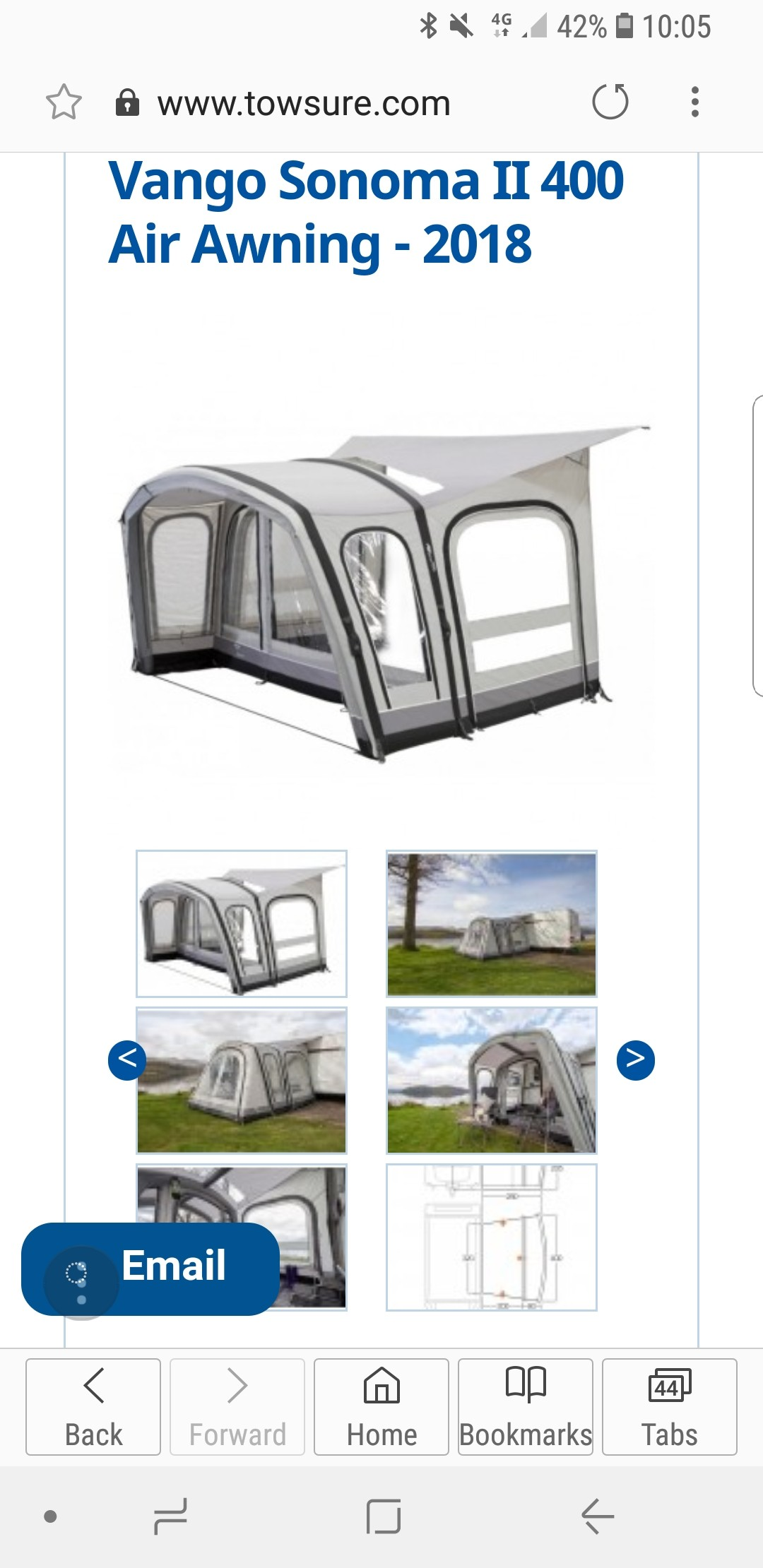 Air Awning Used Caravan Accessories Buy And Sell In Blackpool