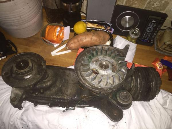 Image 1 of Lambretta engine bits or full scoot in bits wanted