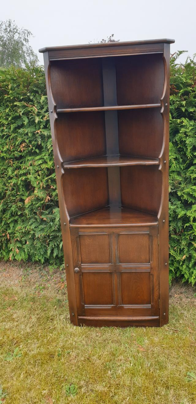 Preview of the first image of Ercol corner cabinet.