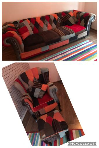 Patchwork Sofa Second Hand Household Furniture Buy And Sell