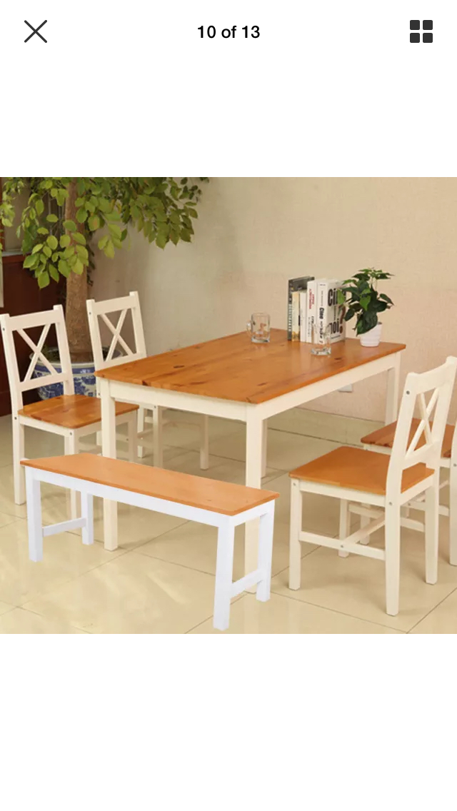 bench seat dining local classifieds preloved rh preloved co uk Dining Set with Bench and Chairs White Dining Table Bench Set