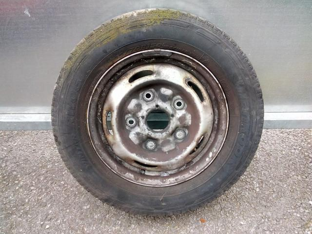 Preview of the first image of transit mk7 wheel & tyre.