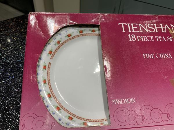 Image 1 of Tienshan Crown Ming Mandarin 18 piece tea set