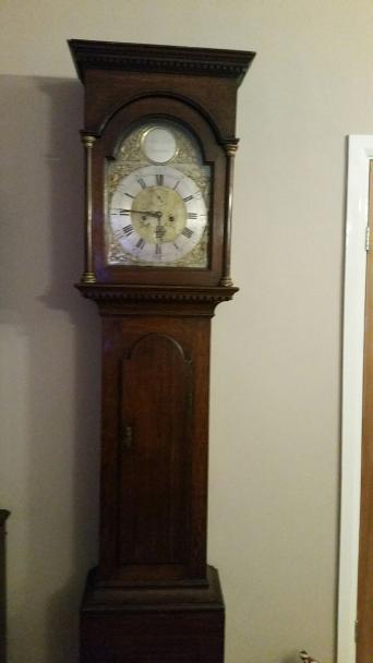 Dating longcase clocks