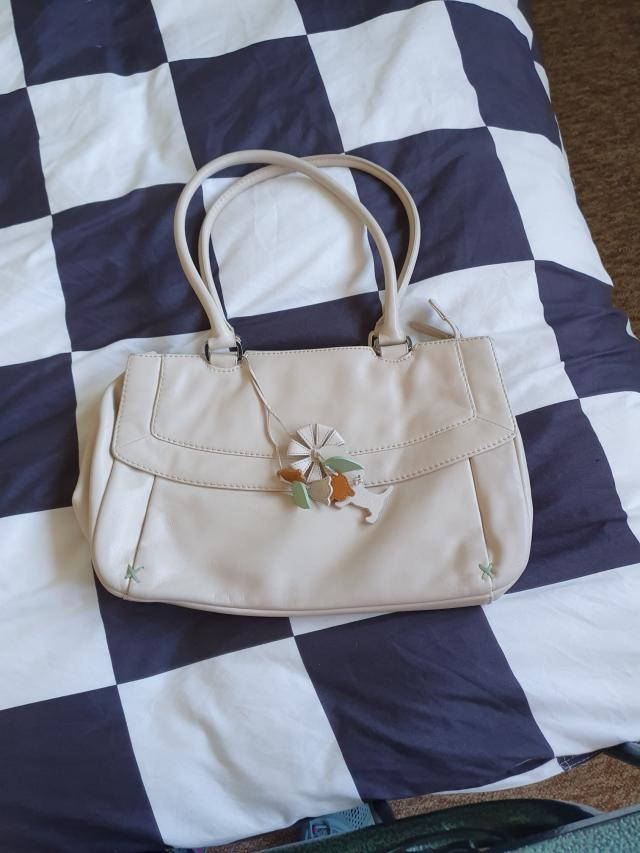 Preview of the first image of Gorgeous cream Radley bag..