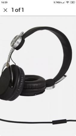 Image 6 of Wesc Bass Headphones Brand New