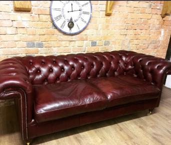 Chesterfield Sofa On Castors