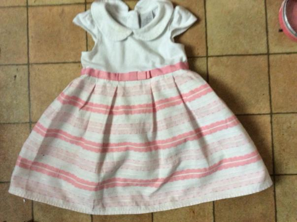 Image 2 of Jasper Conran Baby Dress 9 - 12 months