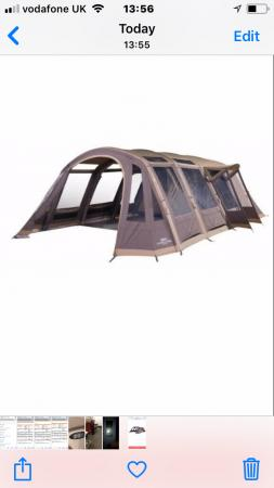 more photos e9afc 63de4 Vango Illusion TC 800xl Airbeam Tent