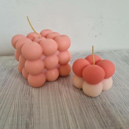 Image 1 of Handmade Mix & Match Bubble Candles
