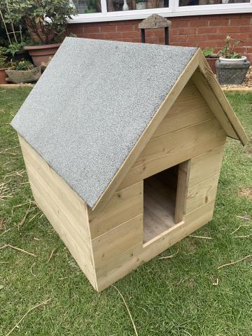 Preview of the first image of Brand new joiner made dog kennel.