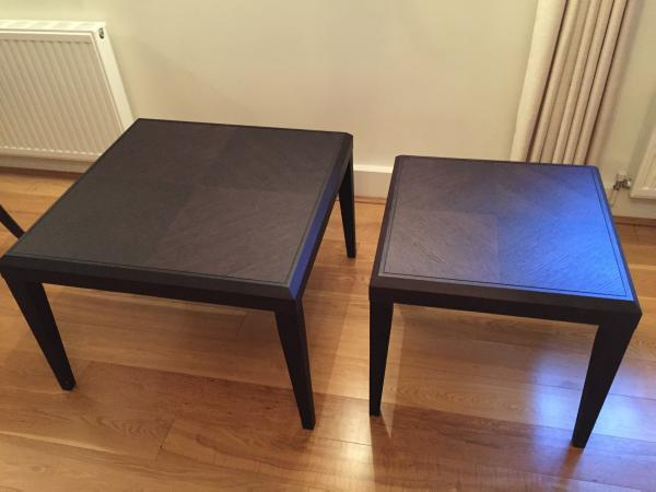 Image 2 of WOODEN COFFEE TABLES X2