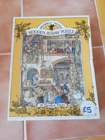Brambly Hedge Vintage Wooden Jigsaw Puzzle