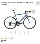 Carrera Adults Bike NEW - £180 ovno