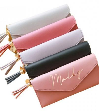 Image 1 of Personalised Clutch Purse