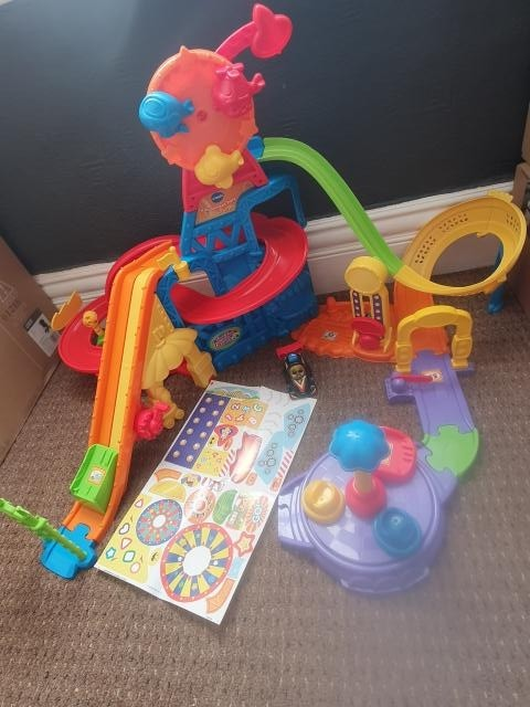 Preview of the first image of vtech toot toot drivers amusement park.