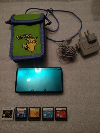 Image 1 of Nintendo 3DS with Games Excellent Condition