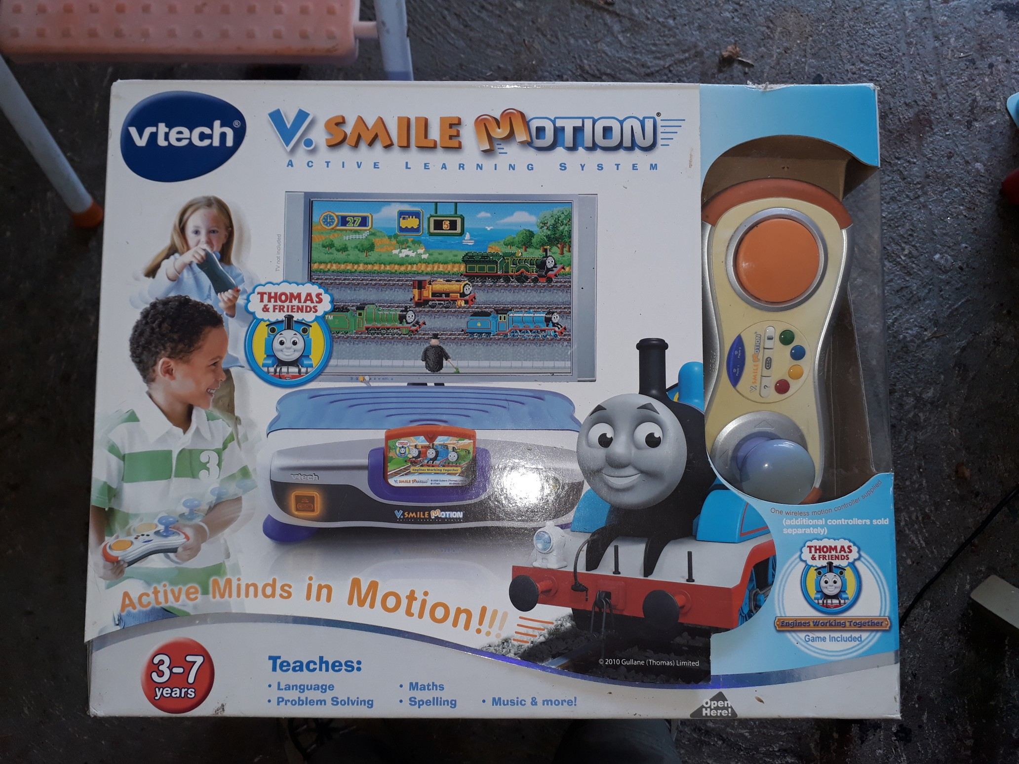 V Smile Learning Game Cars 2 Educational Computers & Accessories