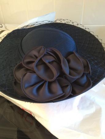 Hat For Special Occasions Bought From C A Only Been Used Once Just Left In Wardrobe Has Net And Roses On Outside Inside Really Beautiful