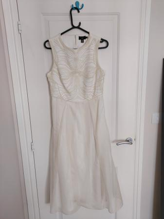 Image 1 of Ted Baker Silk Dress for sale. Size 12-14.