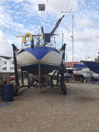 Image 17 of 30ft  yacht Nicholson 303 ,well made well thought of ,fast