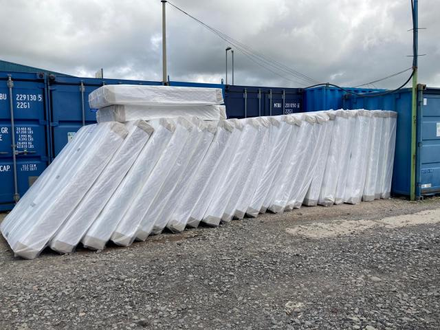 Preview of the first image of Brand new 10 inch thick memory sprung mattress sale on.