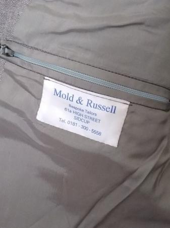 Image 3 of Mold & Russell Light Grey Bespoke Suit Jacket