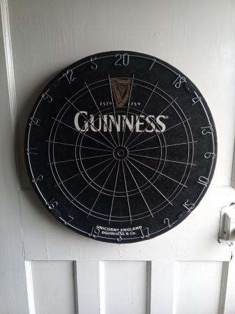 Image 1 of Rare Guinness Dart Board