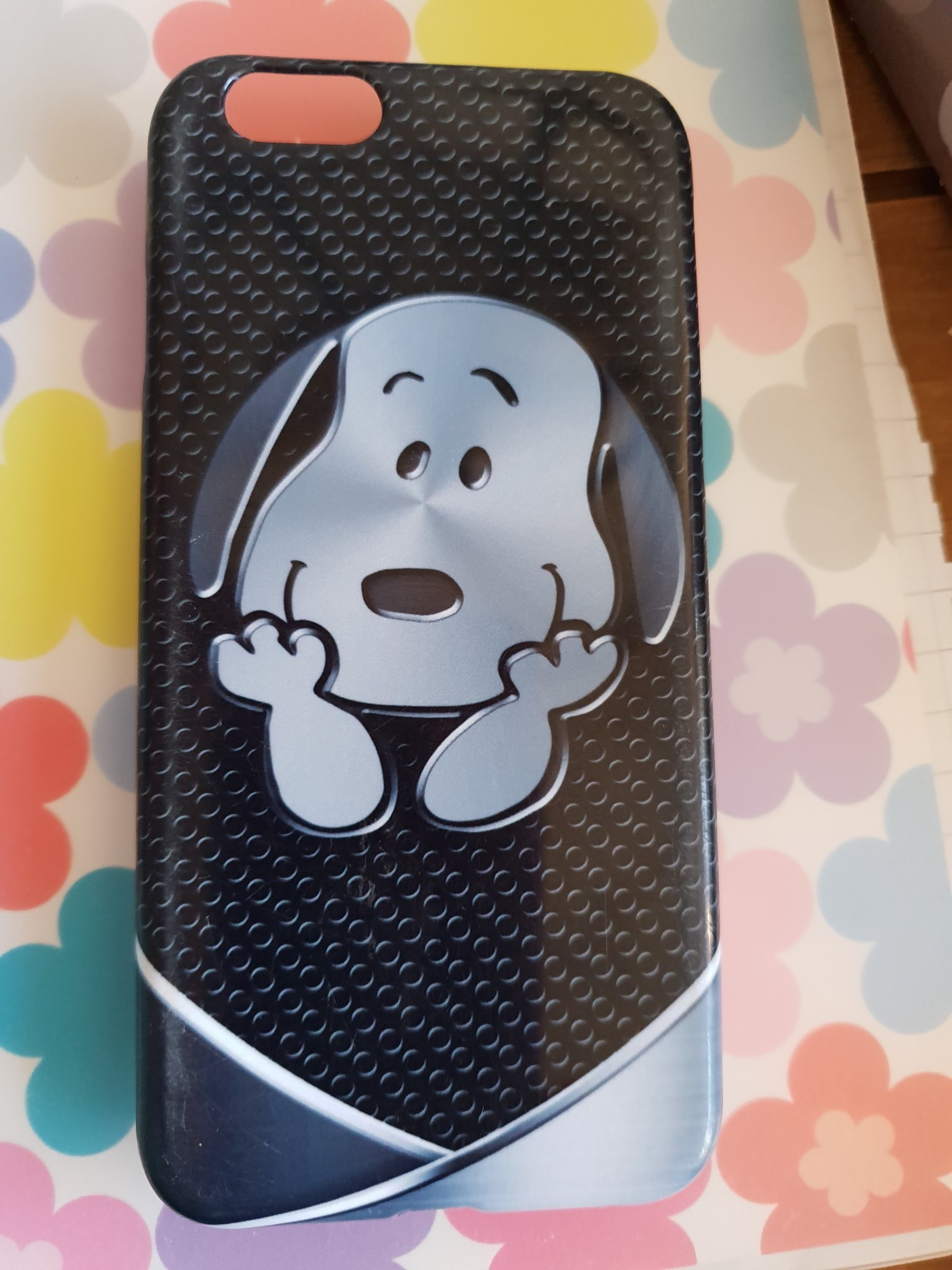 IPhone 6s SNOOPY SNAP ON BACK COVER, used for sale  Mansfield Woodhouse