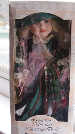 Image 3 of Leonardo Collection Porcelain Doll