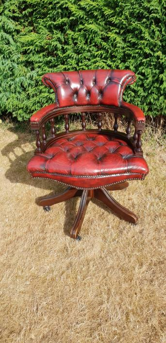 second hand leather captains chair local classifieds for sale