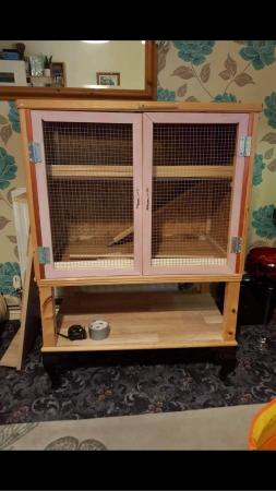 Image 2 of Wooden mice/hamster cage