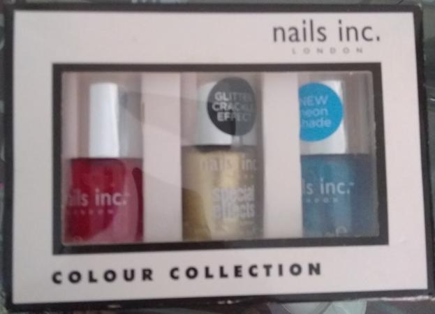 Image 1 of New! Nails Inc Gift Set Nail Polish £7