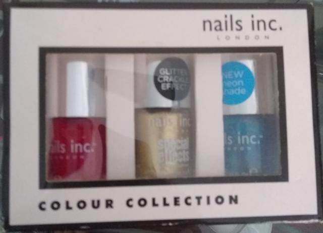 Preview of the first image of New! Nails Inc Gift Set Nail Polish £7.